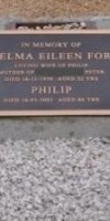 Thelma Eileen (Wilson) Ford. 1928-1950.  Phillip Ford.  1914-2001.