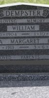 William Dempster. 1904-1974. Laura Margaret Eliza (Batey) Dempster. 1913-1975.