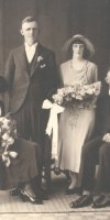 Joseph Victor Ford & Margaret Coutts Wedding