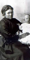 Mary Florence (James) Ford & Unknown Child