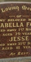 Isabella (Ford) Ford. 1879-1957.  Jesse Ford. 1885-1967.