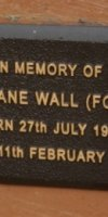Ivy Jane (Ford) Wall. 1907-1994.