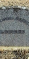 Lawson family Grave