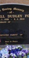Maxwell Dudley Ford 1938-2010.